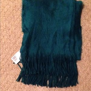 Women's beautiful soft green scarf NWT 73 inches